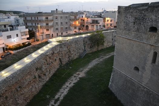 mura castello otranto
