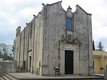 chiesa del Carmine a a Caprarica di Lecce