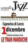 Caprarica in jazz - masseria stali