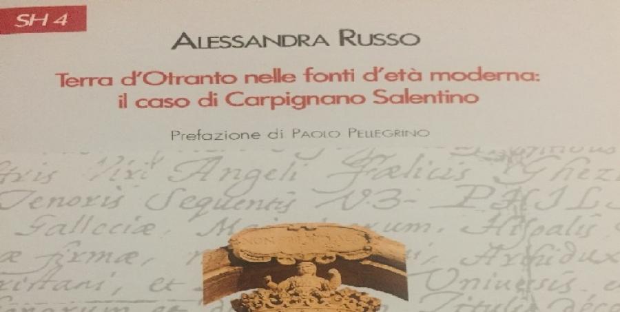 """Caprarica di Lecce """"Corti in Tavola"""" 14/07/2018 presentazione del libro di Alessandra Russo"""