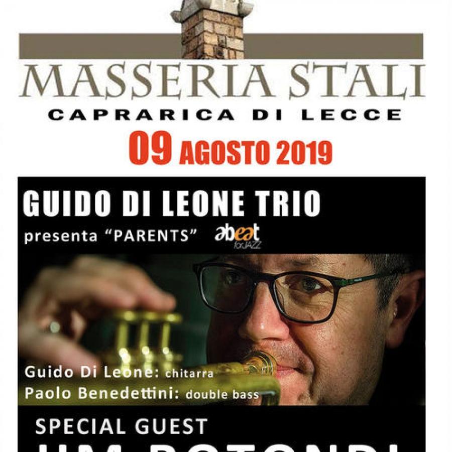 Caprarica in Jazz 2019 - 09/08/2019 Masseria Stali - concerto Jim Rotondi, Guido Di Leone, Paolo Benedettini, Francesca Leone